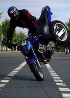Moto land boy
