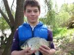 La pêche de la carpe en batterie 541-54