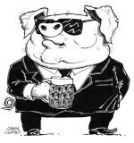 Gangsta-Piggy