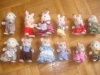 Collection de figurines des sylvanian families de Caline