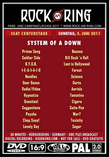 System Of A Down - Live Rock Am Ring 2011 212