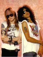 Slash & Axl.