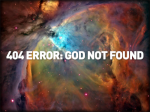 No soy Dios