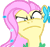 Fluttershy Angry
