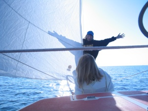 Lake Michigan Sailor
