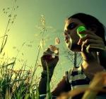 Naira burbujas de cristal
