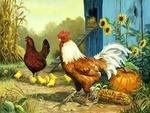 Птицы, цыплята 22922-85