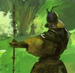 The green Samurai