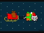Poptart Santa