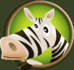 l'ane zebre