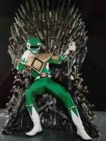 Power Ranger Vert