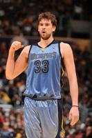 Marc Gasol injured neck