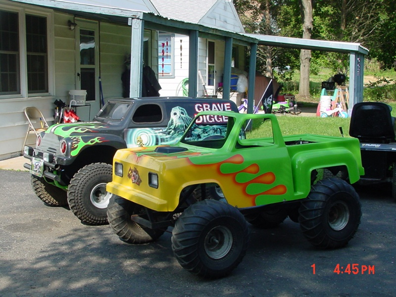 My kids Mini Monster Truck Go- Kart Dsc00011
