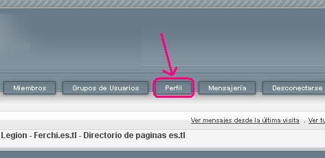 """Cambiar imagen """"avatar"""" del foro Peril010"""