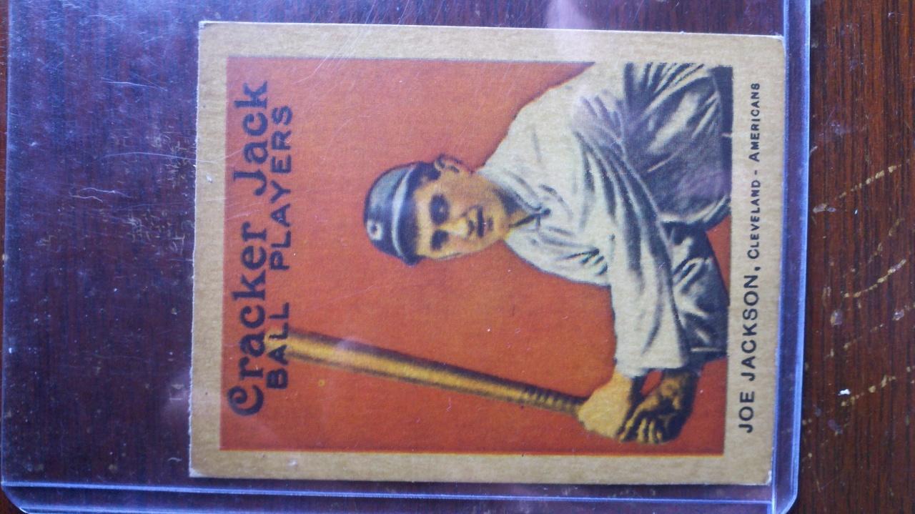 Joe Jackson Cracker Jack card 2012-010
