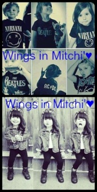 Wings in мitchi'♥ ∞