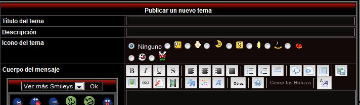 ¿Como puedo poner iconos y descripcion en los post de mi foro? Sin_ta12