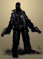 black shooter