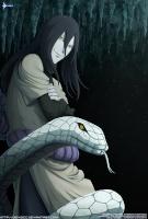 Orochimaru 白い蛇