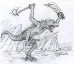 Kroak, prêtre-relique