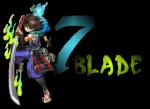 Seven blade