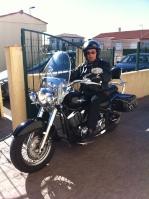Le vieux motard