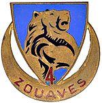 4eme zouave