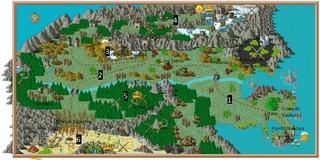 Mapa de Avalonia