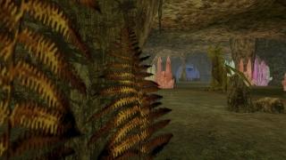 Una extraña caverna de cristales y un su anfitrión