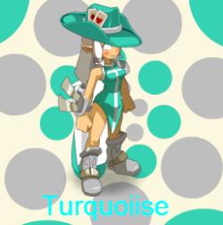 Turquoiise-