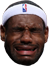 LeBron crying