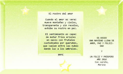 Postal de Felicitación 2015-2016 Felici10
