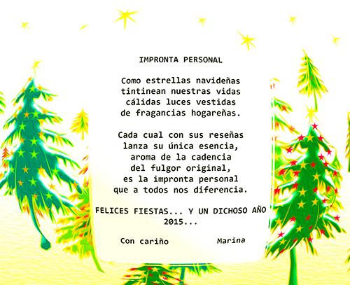 Postal de Felicitación 2014-2015 Navida10