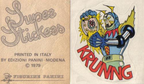 stickers panini anni 80
