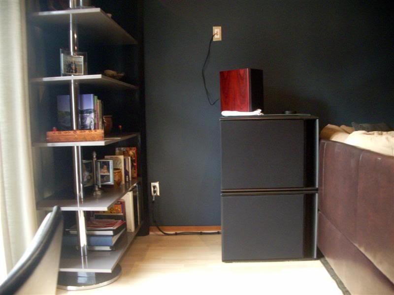 Main Basement Setup Subs