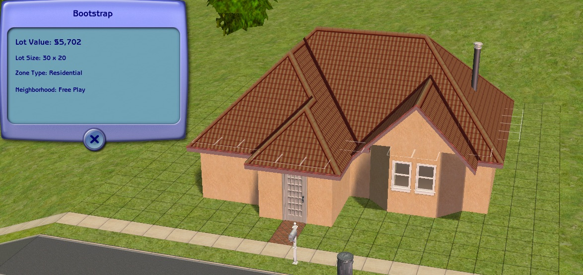 Cheapskate Sims: building on a bootstrap budget Bootst10