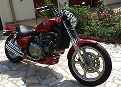Honda vfc Passion club 1287-9