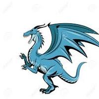 Dragon-Bleu
