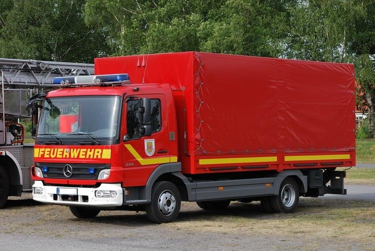 Fahrzeuge der Feuerwehr Rettungsstadt  Gw_al10