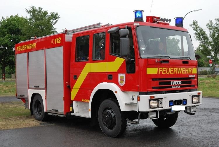 Fahrzeuge der Feuerwehr Rettungsstadt  Lf_16110