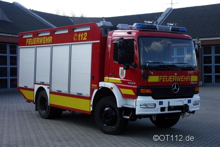 Fahrzeuge der Feuerwehr Rettungsstadt  Rw10