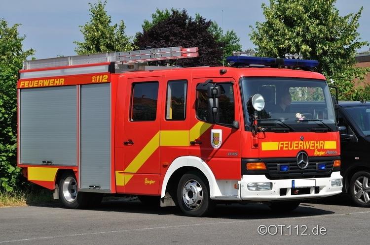 Fahrzeuge der Feuerwehr Rettungsstadt  Stlf_110