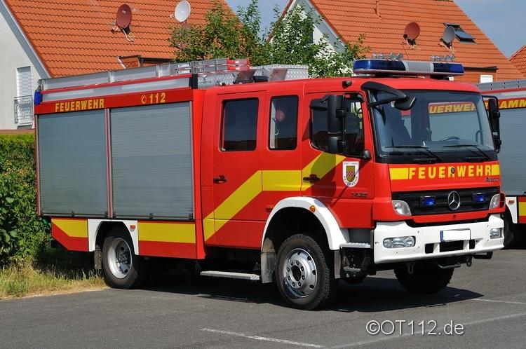Fahrzeuge der Feuerwehr Rettungsstadt  Tlf_1613
