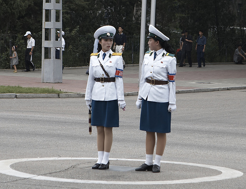 What do you think about the Pyongyang Traffic Girls? Aeb1_110