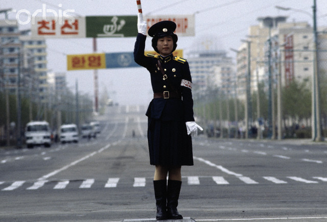 Pyongyang Traffic Girl 1979 - you've come a long way, baby. Hh_u1910