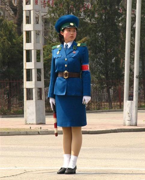 aj. The blue uniform