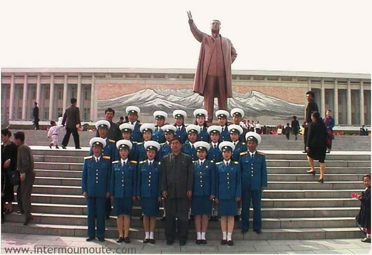 Pyongyang Traffic Police And The Great Leader