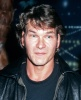 "Actor Patrick Swayze and wife Lisa Niami attend Planet Hollywood ""Dirty Dancing"" Memorabilia Party on December 29, 1992 at Planet Hollywood in Santa Ana, California."
