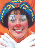 rosie t clown