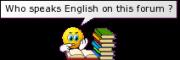 speaks English